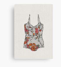 Lingerie-2 Canvas Print