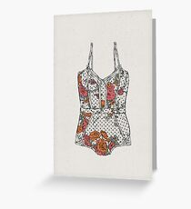 Lingerie-2 Greeting Card