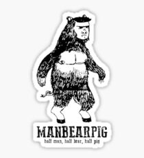 MANBEARPIG South Park Mythical Beast Funny Vintage Sticker