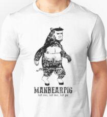 MANBEARPIG South Park Mythical Beast Funny Vintage Unisex T-Shirt