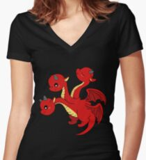 Targaryen House Women's Fitted V-Neck T-Shirt