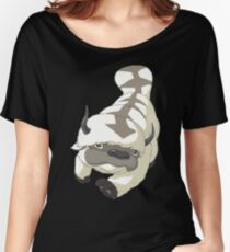 APPA SKY BISON Japanese Anime, Flying, The Last Airbender Avatar Women's Relaxed Fit T-Shirt