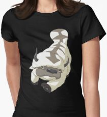 APPA SKY BISON Japanese Anime, Flying, The Last Airbender Avatar Women's Fitted T-Shirt
