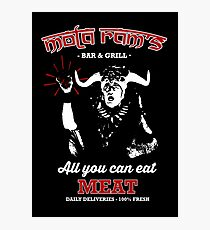 Mola Ram's Bar & Grill Photographic Print