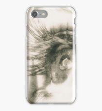 Look me in the eyes iPhone Case/Skin