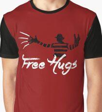 Free Hugs Freddy Graphic T-Shirt