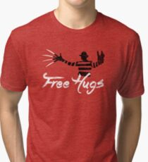Free Hugs Freddy Tri-blend T-Shirt
