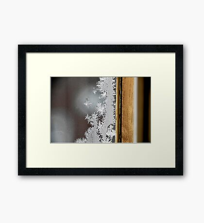 """A Portrait of Frost""  Framed Print"