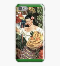 Souvenir from Mexico - vintage poster iPhone Case/Skin