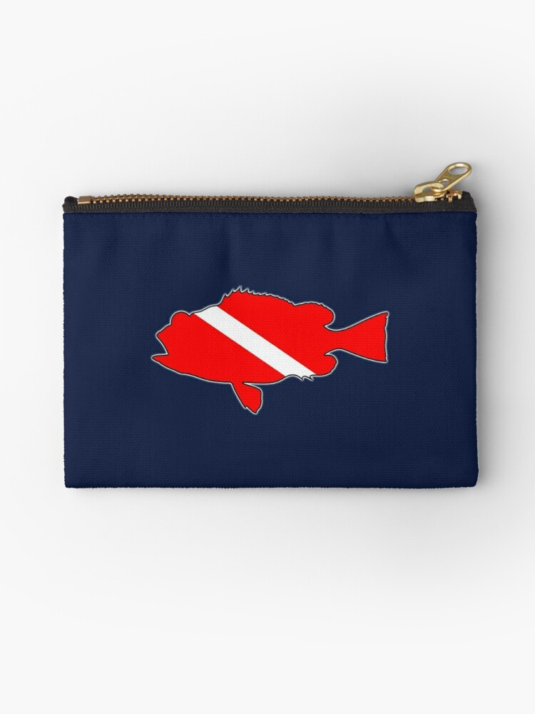 Dive flag bass fish by artisticattitud
