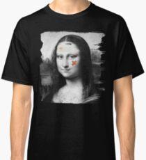 Restored Mona Lisa   Classic T-Shirt