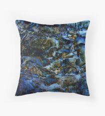 Abstract #1, Mystery Throw Pillow