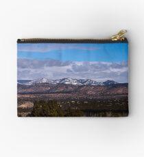 Snow Mountain Range Studio Pouch