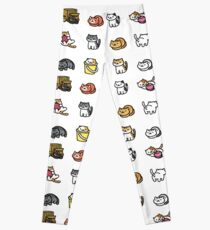 Neko Atsume Leggings