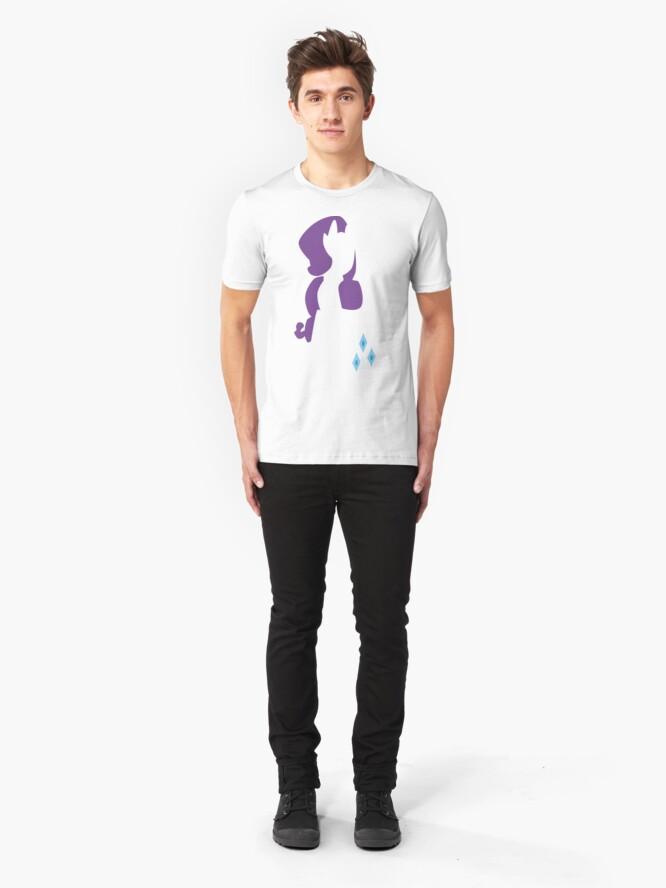 Alternate view of Rarity Silhouette Slim Fit T-Shirt