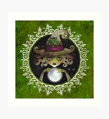 Elphaba, the Wicked Witch of the West Art Print