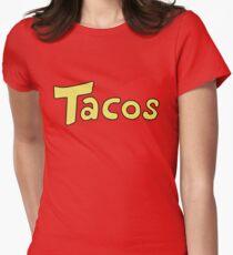 'Tacos' Shirt. Women's Fitted T-Shirt