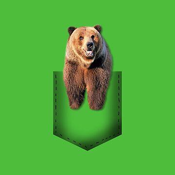 Pocket bear by whereismypanda