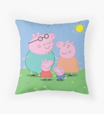 Peppa Pillows Cushions Redbubble