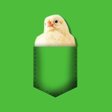 Chick pocket by whereismypanda