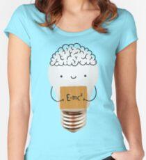 Cute light bulb Women's Fitted Scoop T-Shirt