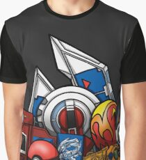 Anime Monsters Graphic T-Shirt