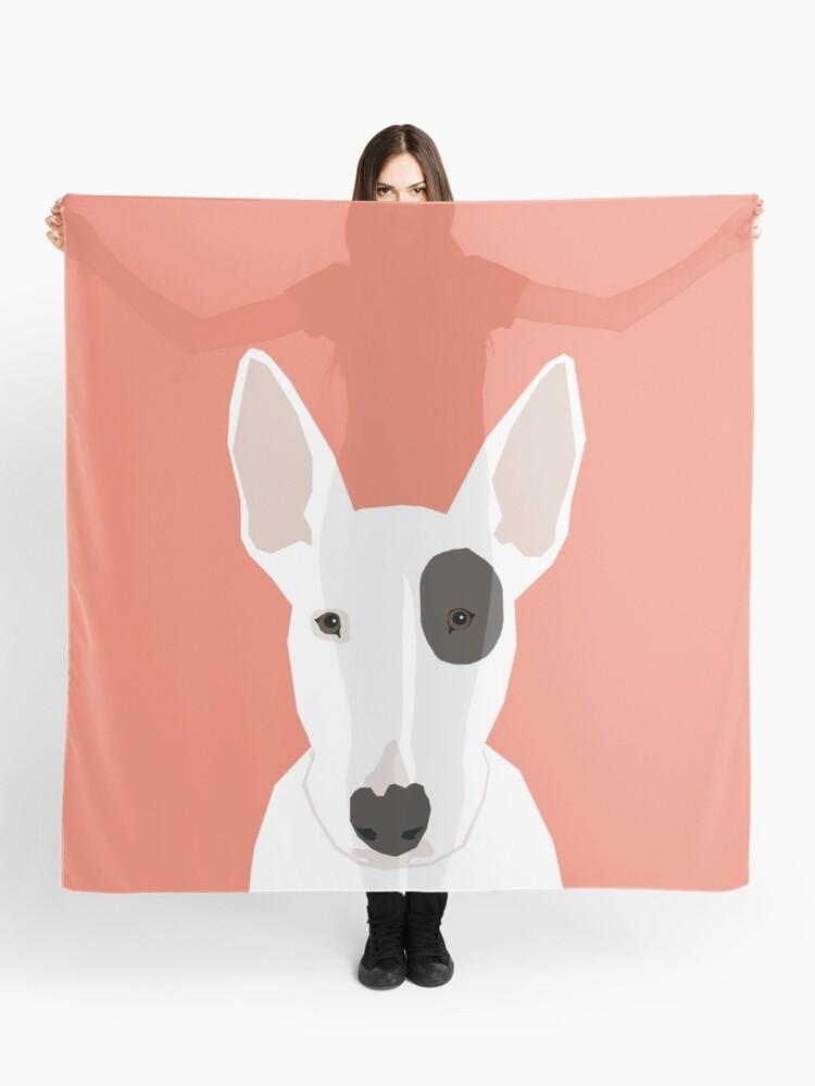 302b38c21f6c1 Foulard « Bull Terrier chien animal de compagnie race chien mignon chiot  drôle chiens spot terriers