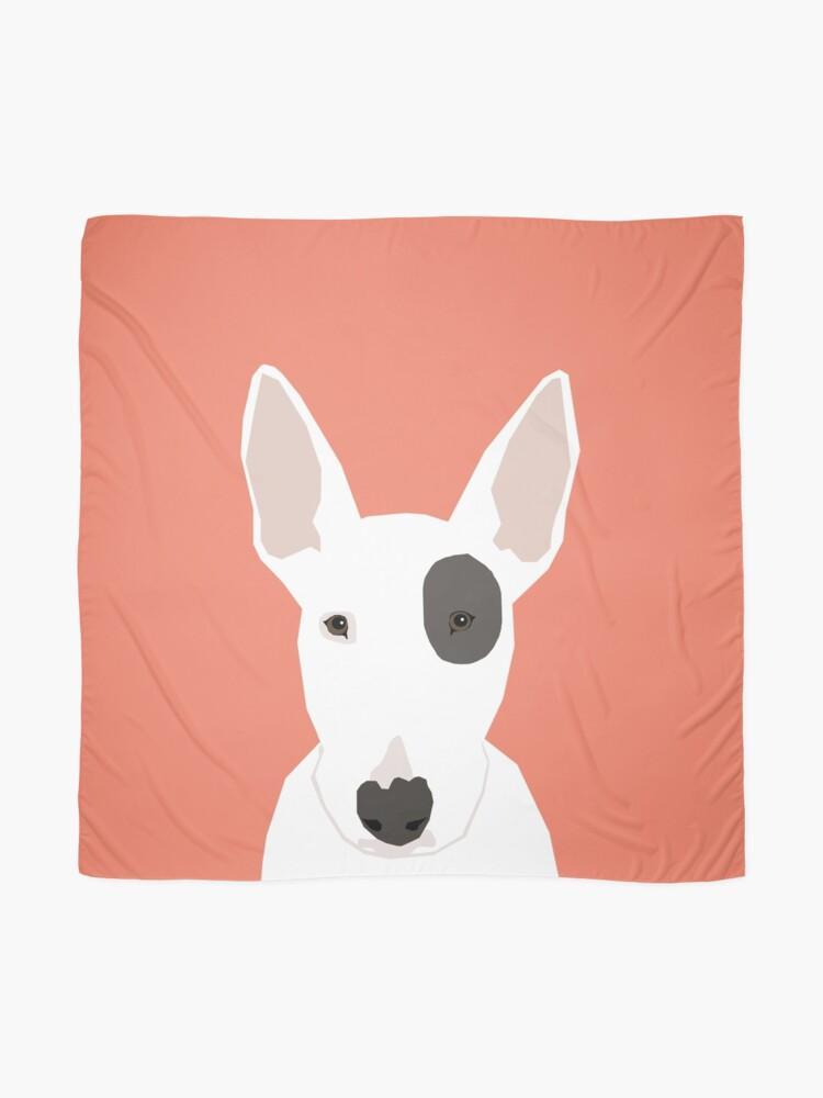 2de5f87f42a3c Foulard   Bull Terrier chien animal de compagnie race chien mignon chiot  drôle chiens spot. «
