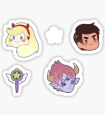 Star vs The Forces of Evil Sticker