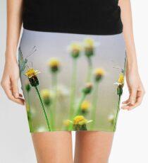 Flowers and Butterflies Mini Skirt
