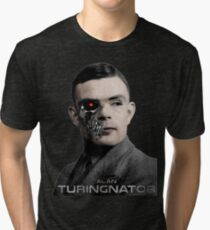 Alan Turingnator Tri-blend T-Shirt
