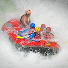 White Water Rafting by Linda Cutche