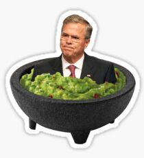 Guacabowle Jeb Bush Sticker