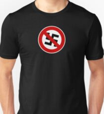Anti-nazi for life. Unisex T-Shirt