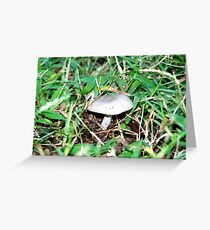 Little Shroom in the Weeds Greeting Card