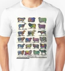 A Study in Sheep Watercolor Unisex T-Shirt