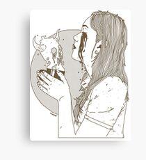 Deadly Consumption  Canvas Print