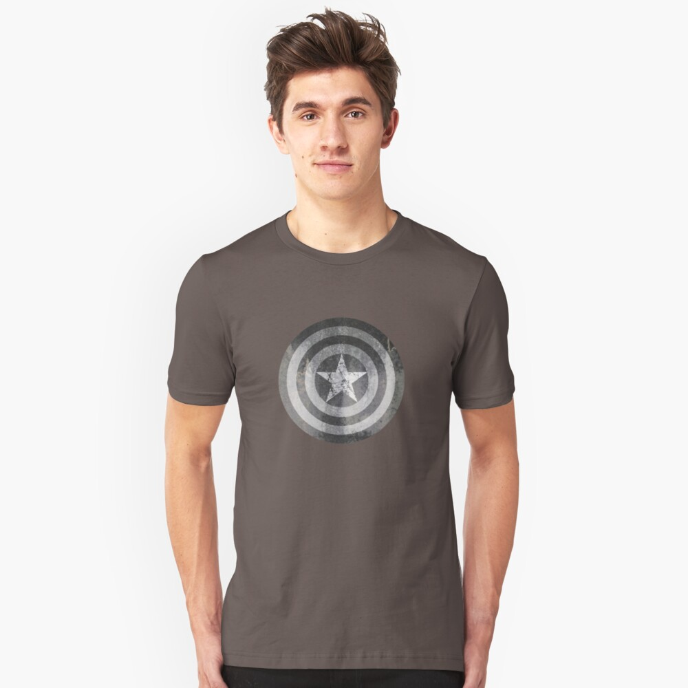 Grey America Unisex T-Shirt Front