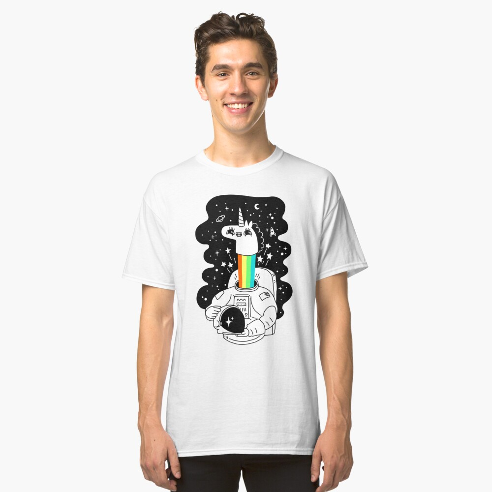 See You In Space! Classic T-Shirt Front