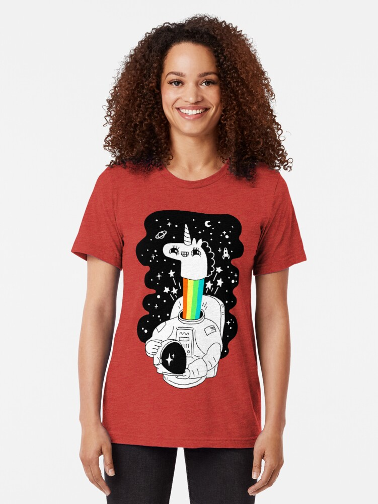 Alternate view of See You In Space! Tri-blend T-Shirt