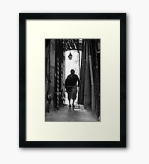 Italian corridors Framed Print