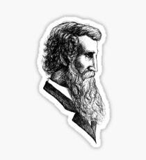 John Muir  Sticker