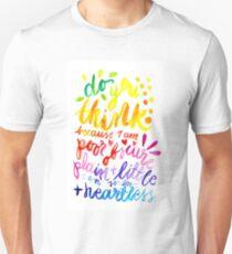 Jane Eyre Quote Unisex T-Shirt