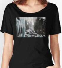 Cold and beautiful landscape landscape photography Women's Relaxed Fit T-Shirt