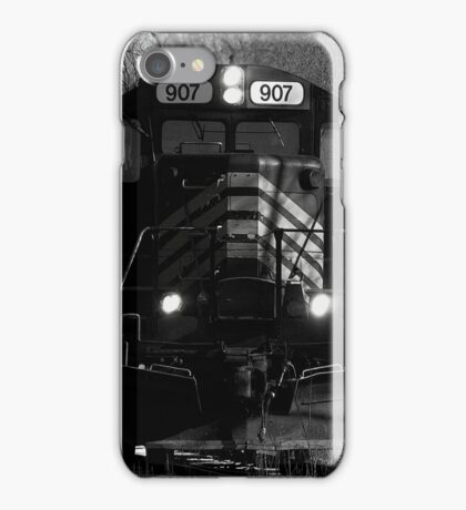 Time to work, it's too cold in the winter iPhone Case/Skin