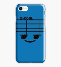 B-Cool (with text) iPhone Case/Skin