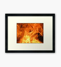 Born from Flames Framed Print