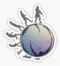 Space Evolution Sticker