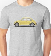 1972 Volkswagen Beetle - Saturn Yellow Unisex T-Shirt