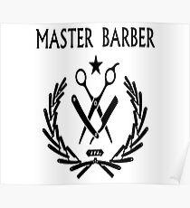Master Barber Poster